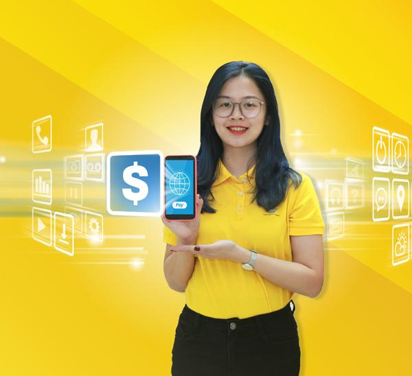Ví điện tử PostPay - mục tiêu mới của Bưu điện Việt Nam