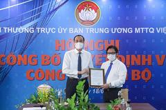 Ông Lê Anh Đạt làm Quyền Tổng Biên tập báo Đại Đoàn Kết