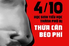 Trẻ Việt Nam thừa cân, béo phì do cha mẹ chủ quan với cân nặng của con