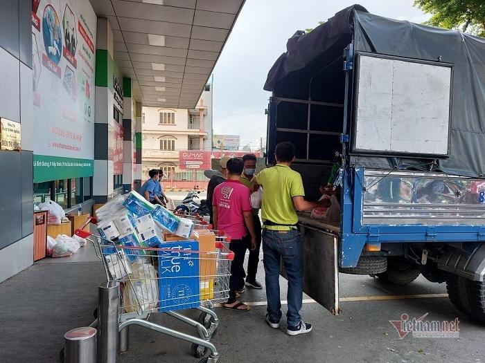 Ca dương tính Covid-19 ghé mua thực phẩm, siêu thị Big C Bình Dương bị phong tỏa