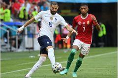 Hungary 0-0 Pháp: Thế trận sôi động (H1)