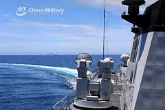 Trung Quốc tập trận dài cả tuần trên Biển Đông