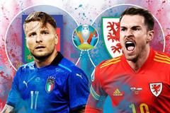 Link xem trực tiếp Italy vs Xứ Wales, 23h ngày 20/6