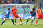 Italy 0-0 Xứ Wales: Thế trận chậm rãi (H1)