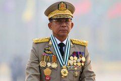 Lãnh đạo quân đội Myanmar công du Nga