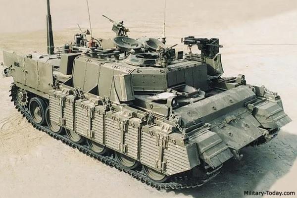 Biến xe tăng thành xe chiến đấu bộ binh