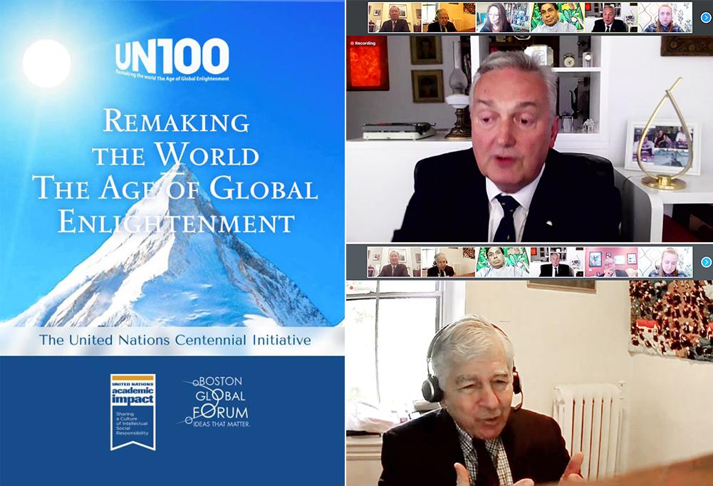 Diễn đàn toàn cầu Boston,Liên Hợp Quốc