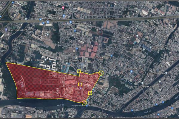 TP.HCM phong tỏa một khu phố ở quận 8 do ca nhiễm tăng cao