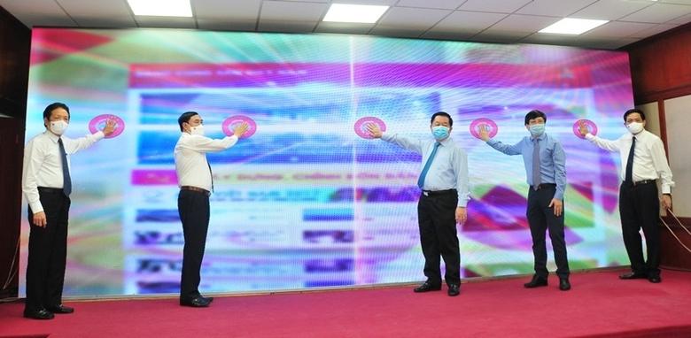 Khai trương giao diện mới và app mobile Báo điện tử Đảng Cộng sản Việt Nam