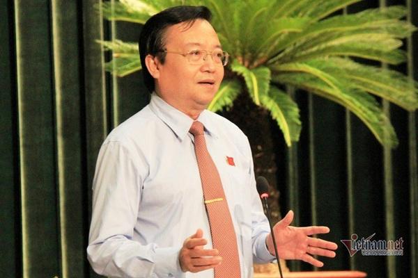 Nguyên Giám đốc Sở GD-ĐT TP.HCM Lê Hồng Sơn nhận công tác tại Thành ủy