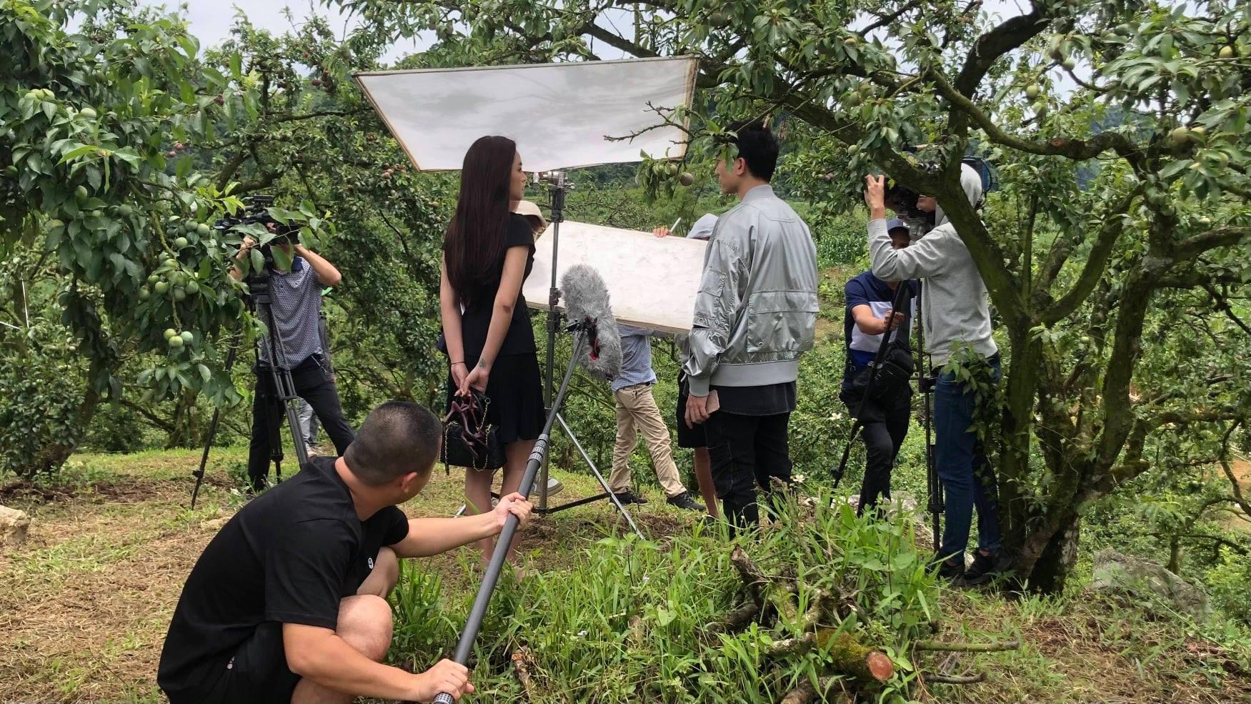 Thanh Sơn, Thanh Hương vật vã đóng phim dưới trời nắng nóng kỷ lục