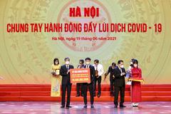 HDMon Holdings ủng hộ Hà Nội 20 tỷ đồng phòng chống dịch Covid-19
