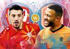 Trực tiếp Hà Lan vs Bắc Macedonia: Khó cản 'Cơn lốc cam'