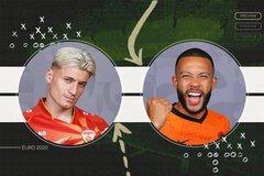 Link xem Hà Lan vs Bắc Macedonia, 23h ngày 21/6