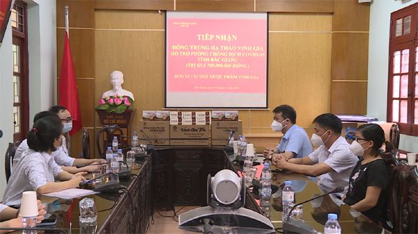 Hàng nghìn sản phẩm đông trùng hạ thảo tiếp sức Bắc Ninh, Bắc Giang chống dịch