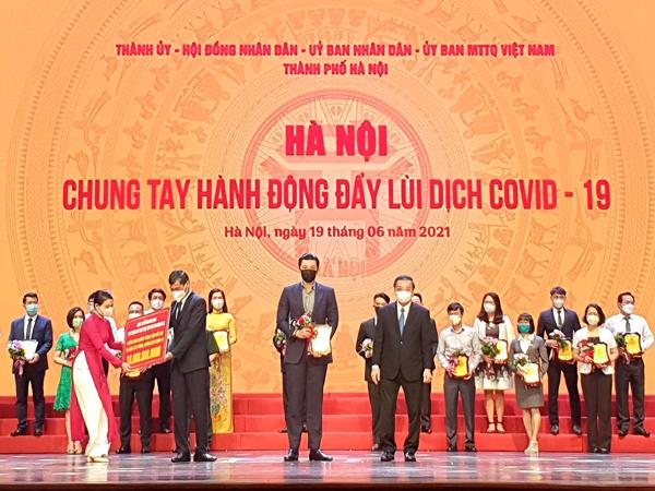 Tân Hoàng Minh ủng hộ Hà Nội 20 tỷ đồng phòng chống dịch Covid-19