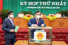 Thái Nguyên: Chủ tịch HĐND, UBND tỉnh tái cử với số phiếu tuyệt đối