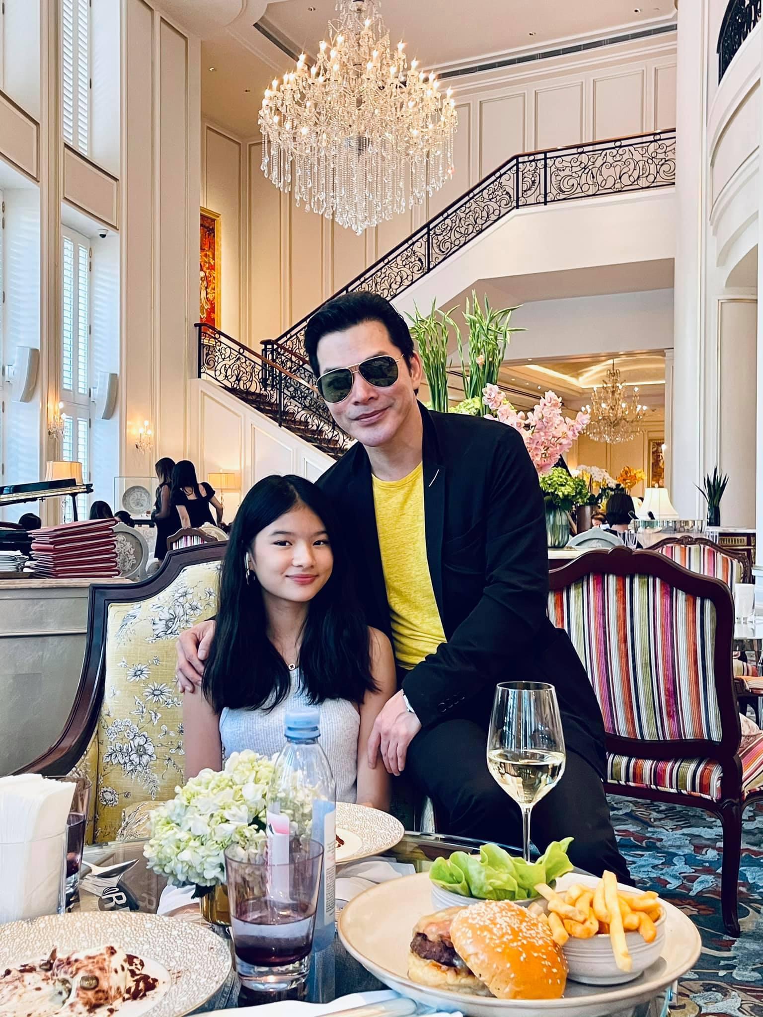 Hai con gái xinh đẹp, đáng yêu của diễn viên Trần Bảo Sơn