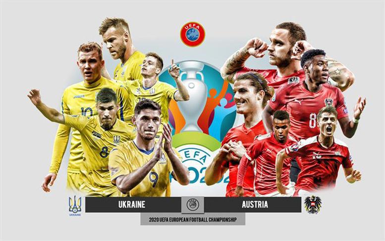 Link xem trực tiếp Ukraine vs Áo, 23h ngày 21/6 - kết quả vietlott 09022020