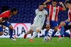 Argentina 1-0 Paraguay: Gomez mở tỷ số sớm (H1)
