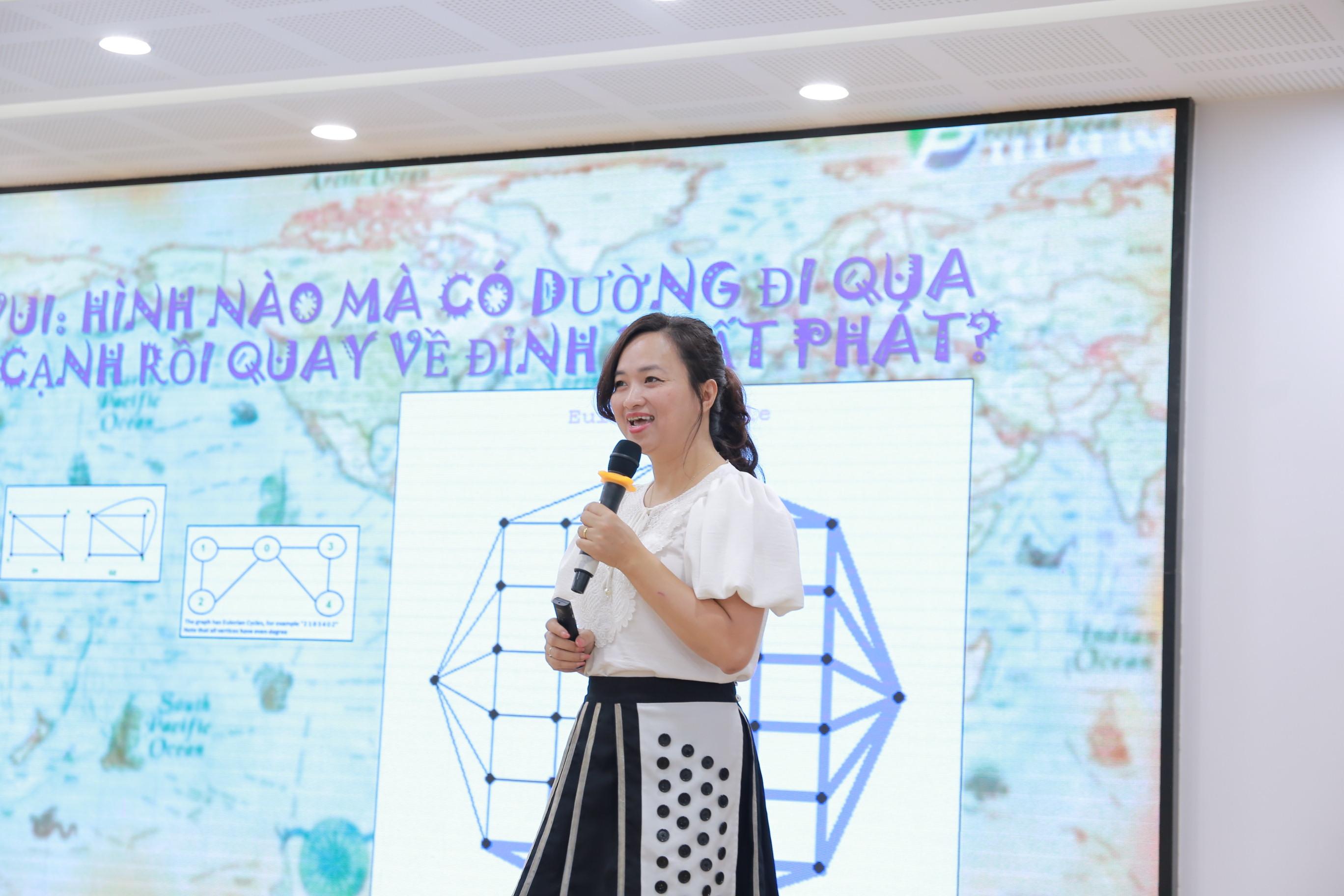 PGS.TSKH. Phan Thị Hà Dương: Học Toán ở đại học trong nước