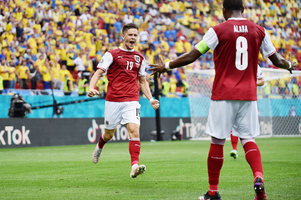 Video bàn thắng Ukraine 0-1 Áo