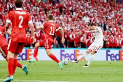 Đan Mạch 1-0 Nga: Bàn thắng xuất thần (H1)