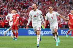 Đan Mạch 1-0 Nga: Bàn thắng xuất thần (H2)