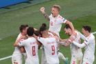 Đan Mạch 4-1 Nga: Siêu phẩm của Christensen (H2)