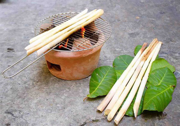 Binh Phuoc travel,S'Tieng ethnic people,white rattan buds