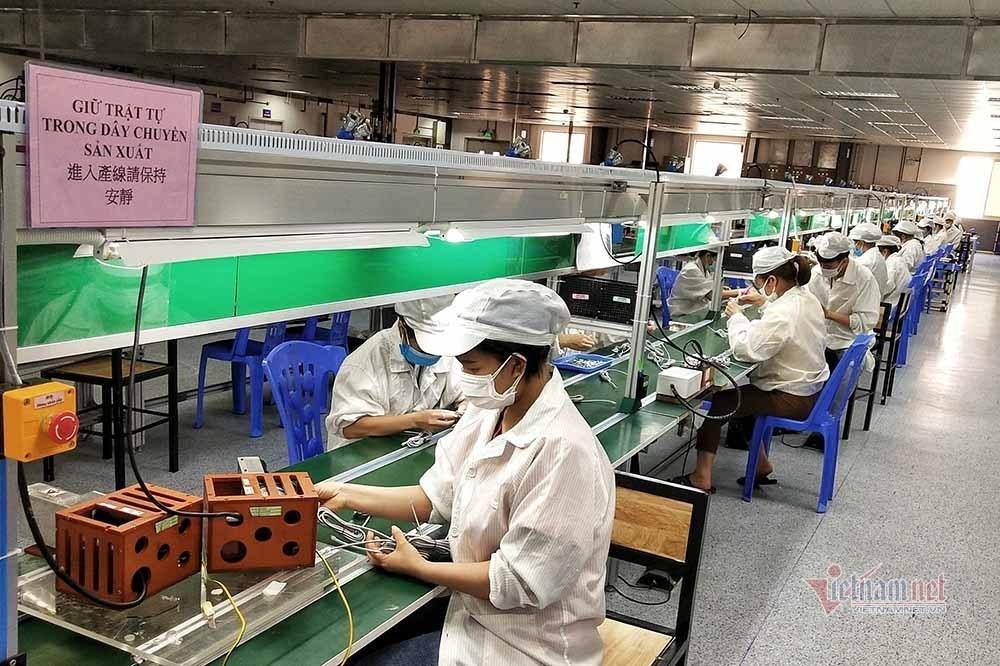 Bắc Giang: 120.000 công nhân đi làm trở lại vào tháng 10/2021