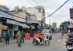 Căng dây, chốt chặn ngăn người dân lập chợ tự phát ở TP.HCM