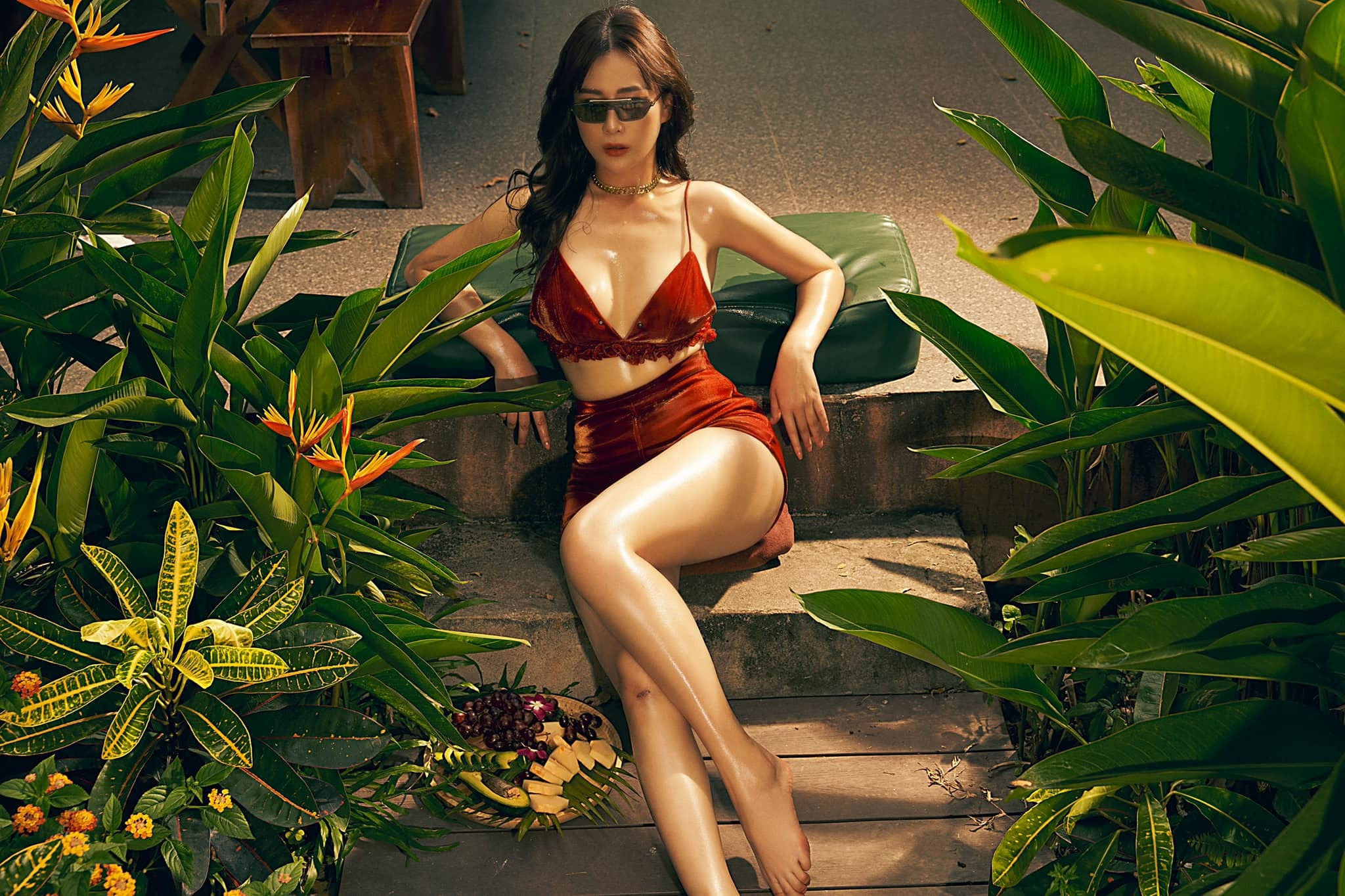 Loạt ảnh nóng bỏng của Phương Oanh
