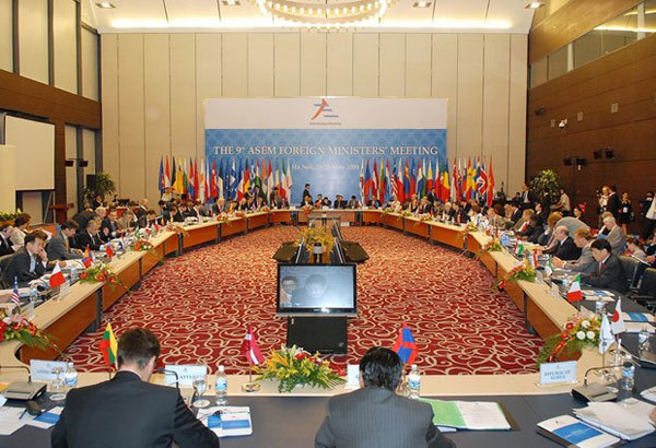 High-level policy dialogue marks 25th anniversary of ASEM