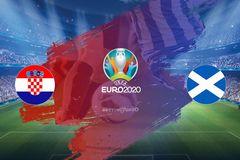 Link xem trực tiếp Croatia vs Scotland, 2h ngày 23/6