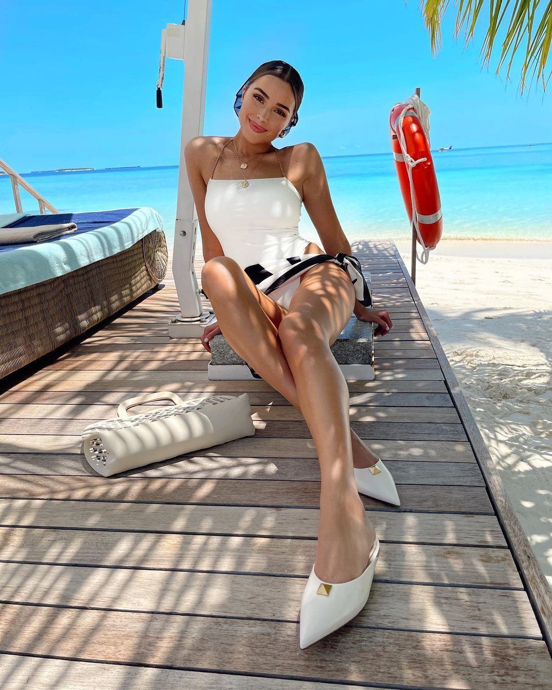 Vẻ nóng bỏng của Hoa hậu Hoàn vũ Olivia Culpo