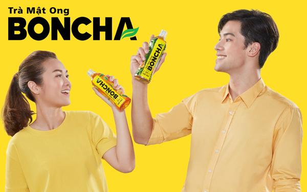 Cơn sóng thanh mát giải khát tức thì từ trà mật ong Boncha