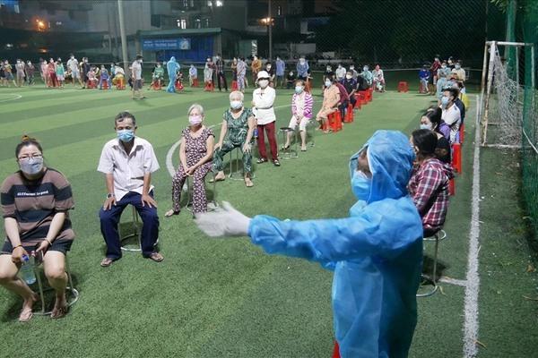 Bình Tân sẽ lấy hơn 243.000 mẫu xét nghiệm nCoV cho người dân 4 phường