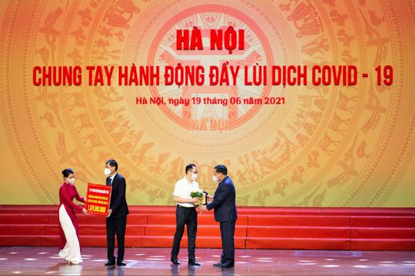HYH Việt Nam góp hơn 1 tỷ đồng, cùng Hà Nội chống dịch