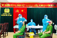 Chiến sĩ dương tính SARS-CoV-2, phong toả trụ sở công an huyện Đô Lương