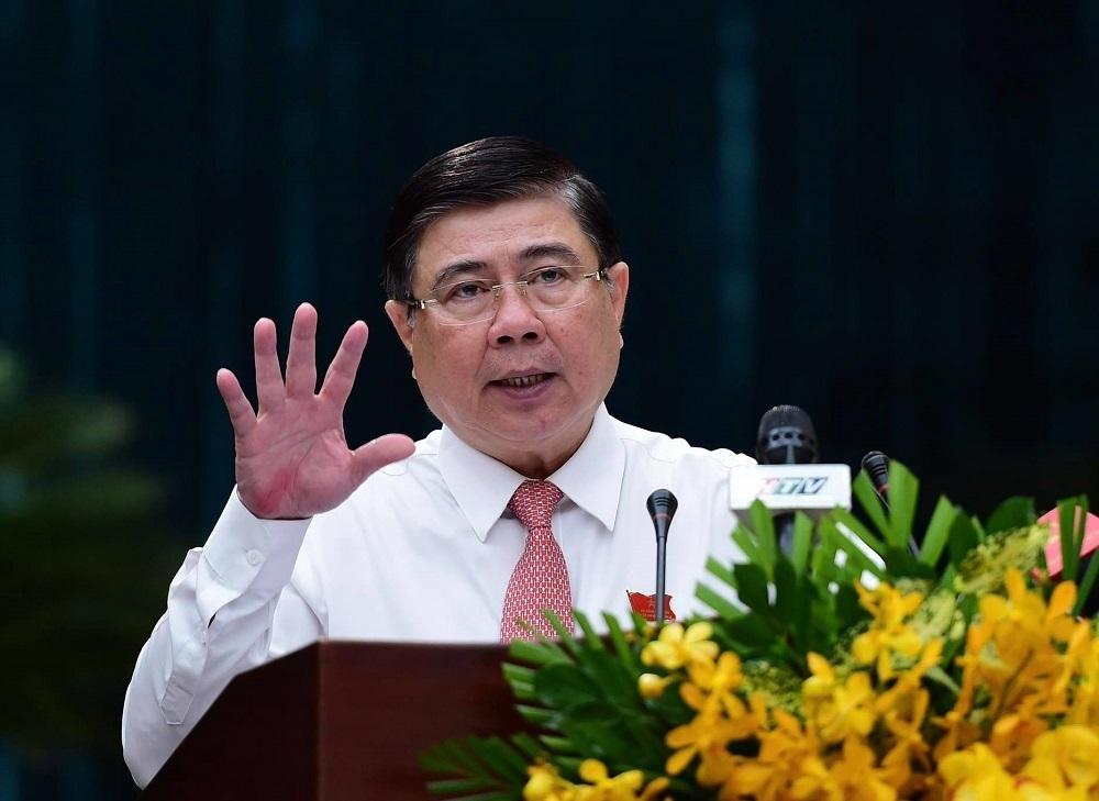 Ông Nguyễn Thành Phong tái đắc cử Chủ tịch TP.HCM