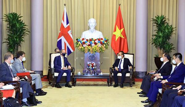 Vietnam-UK strategic partnership,UK