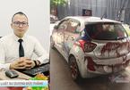 Hành vi tạt sơn lên taxi ở Linh Đàm có thể bị phạt tù đến 20 năm