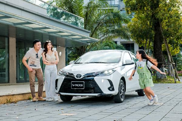 Nhiều ưu đãi khi mua Toyota Vios trong tháng 6