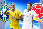 Brazil 0-1 Colombia: Siêu phẩm mở tỷ số (H1)