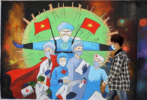 Artists spread safety messages amid pandemic