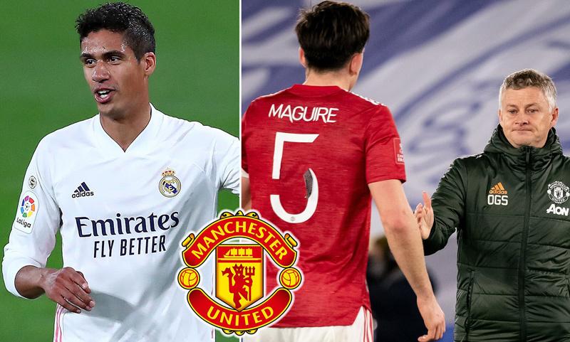 Real Madrid chốt giá bán Varane cho MU