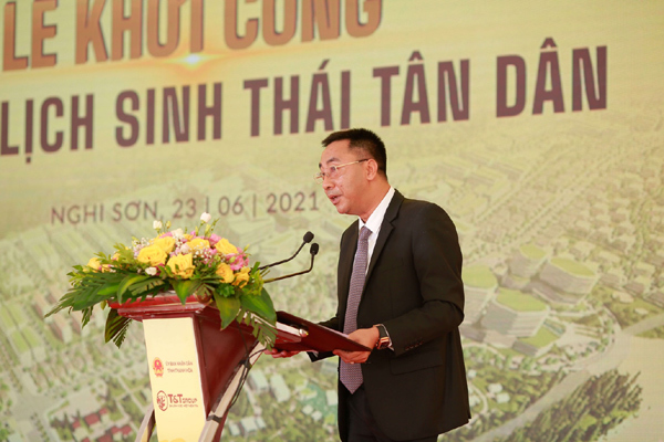 T&T khởi công xây dựng khu du lịch sinh thái biển ở Thanh Hoá