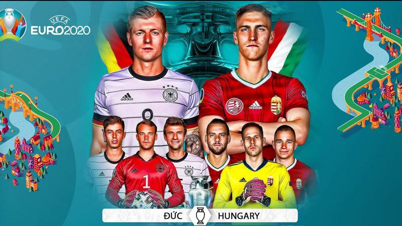 Link xem trực tiếp Đức vs Hungary, 2h ngày 24/6