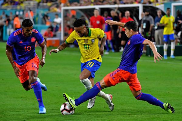 Kèo Brazil vs Colombia: Khiêu vũ với Neymar